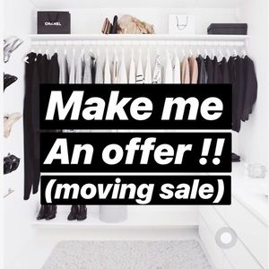 🚚 Moving SALE! Everything must go!! 🛒🛍